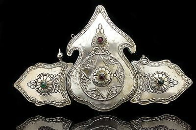Antique Original Silver Amazing Anatolian Ottoman Belt Buckle