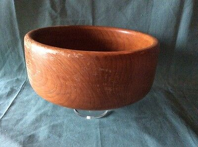 Vintage Large Wooden Bowl