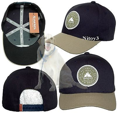 Simms Classic Baseball Cap-Two Tone Cotton Twill Unisex