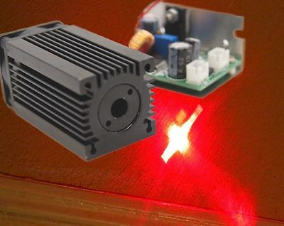 1W 638nm Red/Orange Laser Module