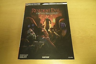 Resident Evil Operation Raccoon City - BradyGames official guide book