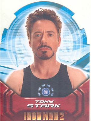 Iron Man 2 Actors Die Cut Chase Card AH1