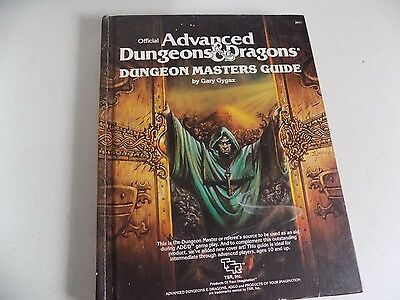 Vtg Hardcover Book Advanced Dungeons and Dragons Dungeon Masters Guide 1978