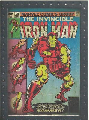 Iron Man 2 Armored Embossed Chase Card AC3