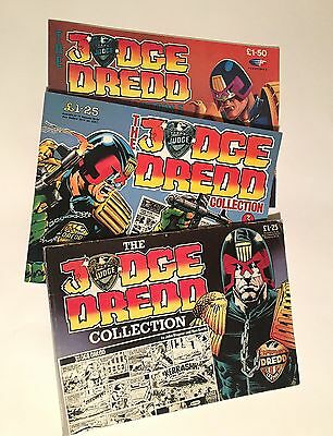 The Judge Dredd Collection - IPC / Fleetway - Weekly Strips x 3