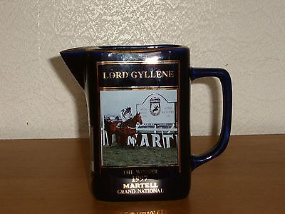 Martell Grand National Water Jug Lord Gyllene 1997 - Excellent Condition