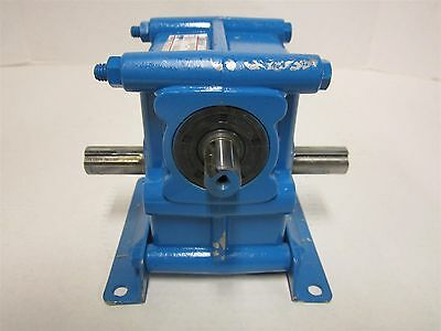"Morse 15 ED Gear Speed Reducer Ratio 30:1 LR PS3116 Dual 3/4"" Output 5/8"" Input"