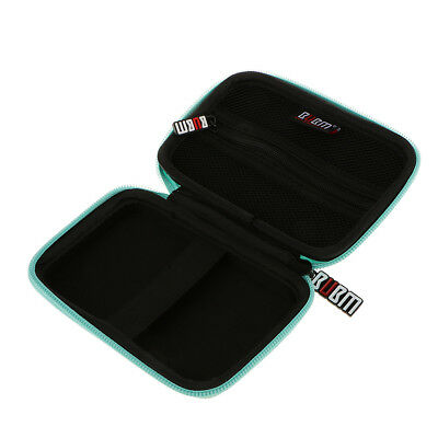 """Carry Case Cover Pouch for 2.5"""" USB External Hard Disk Drive HDD Cable Green"""