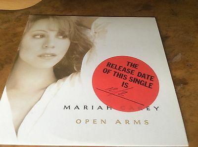 MARIAH CAREY - Open Arms - Austria 1995 1trk Promo Only Cd Single.Extremley Rare