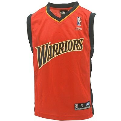 huge discount 36781 4dd19 NBA GOLDEN STATE Warriors Youth Size Throwback Vintage Style Jersey New W  Tags