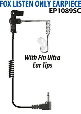 Police Tactical 3.5mm Earpiece for Motorola Microphone APX7000 APX600 APX4000