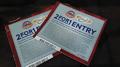 2 For 1 Entry To Alton Towers Or Thorpe Park Voucher