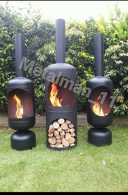 Gas bottle log burner, wood burner,firepit, chimnea, patio heater