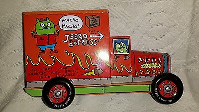Uglydoll Ugly Trucks Jeero Express Coin Bank Series Tin Truck Toy 2010 NEW