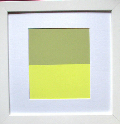 JOSEF ALBERS >Interaction of Color< Original Doppel-Siebdruck, mit Rahmen 43x43