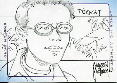 Thunderbirds Are Go The Movie Sketch Card By Warren Martineck