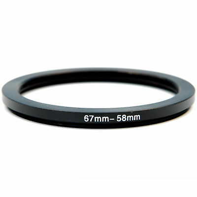 Kood 67mm - 58mm Lens Stepping Step Down Filter Adapter Ring - 67 to 58 mm