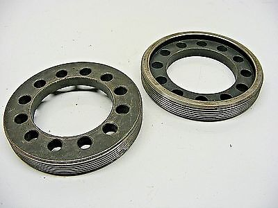 "2) 3.250 Ford 9"" Billet Steel Carrier Side Adjusting Nuts Race Strange 101416-10"