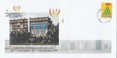 (70777) Netherlands Cover Salvation Army Amsterdam Staff Songsters US 1999