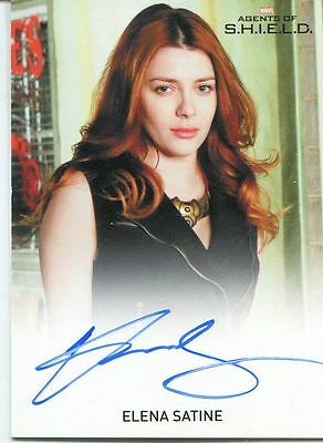 Agents Of Shield Season 1 FB Autograph Card Elena Satine as Lorelei