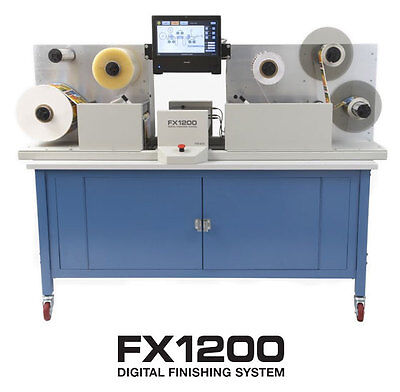 Primera CX1200  FX1200 Finisher, digital full color label printer and finisher