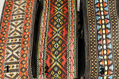 Vintage woven/embroidered camera strap, 3 designs to choose from