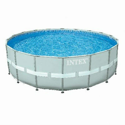 """Intex 18'x52"""" Round Ultra Frame Above Ground Swimming Pool Package 28335EH"""