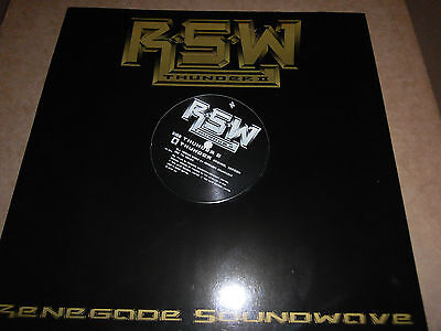 "Renegade Soundwave ‎– Thunder II [12"" Single] Mute Records"