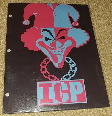 Rare New Insane Clown Posse Icp Carnival Of Carnage School Folder Vintage 2004