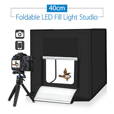 PULUZ 40cm Photography Cube SoftBox Kit Light Tent Studio Practical for Products