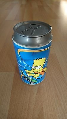 THE SIMPSONS BART SK8 torch/lamp DISGUISED AS CAN for bedside reading or camping