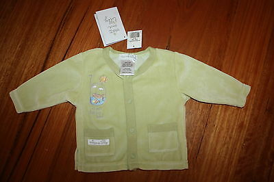 BNWT ~ Max and Tilly Velour Top/ Jacket  ~ Size 000 (0-3mths) ~ Unisex