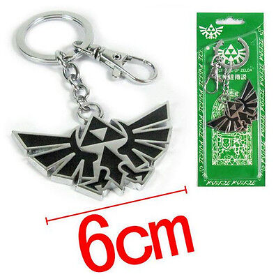 The Legend of Zelda Logo Link keychain Collection Keyring Xmas Gift