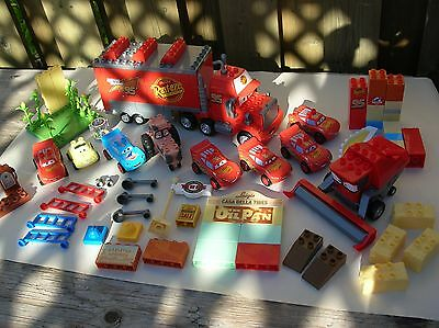 Disney Cars Pixar Mega Bloks  Large Lot Lighting McQueen