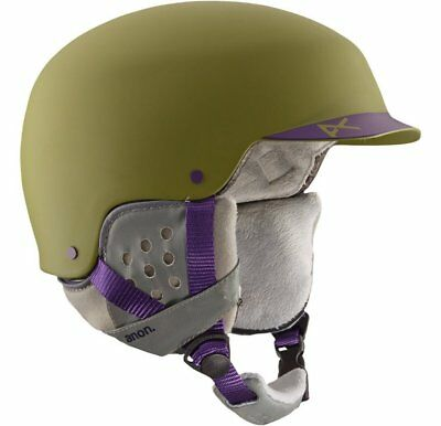 Helmet Anon Aera Pellow Green