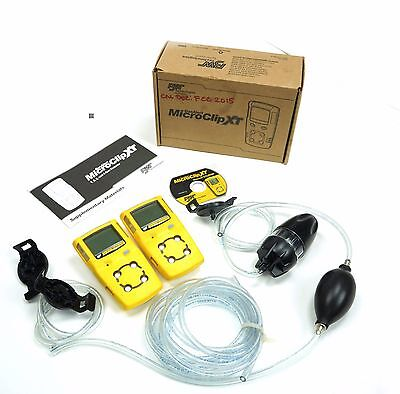 BW Technologies MC2 Gas Alert MicroClipXT Multi Gas Detector O2, LEL, H2S, CO