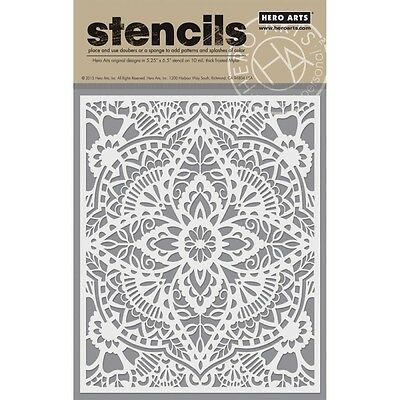 "Hero Arts Stencils 6.25""X5.25"" - Glorious Petal"