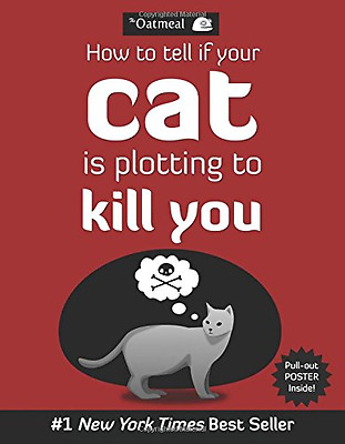 How to Tell If Your Cat is Plotting to Kill You, Good Condition Book, Inman, Mat