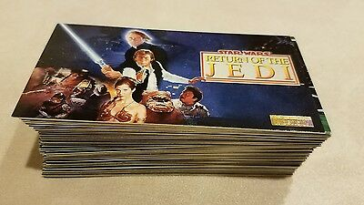 Star Wars - Return of the Jedi Topps WideVision Card Set