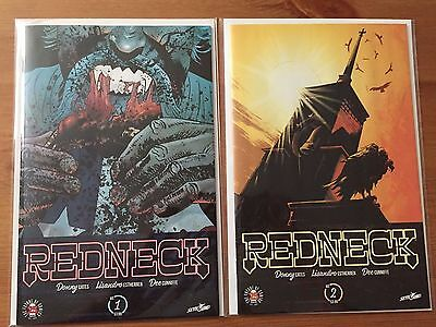 Redneck 1 and 2 NM lot 1st print Image Comics Donny cates