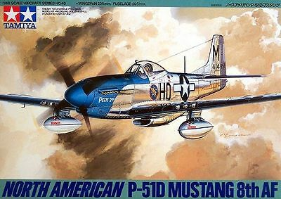 Tamiya 61040 1/48 scale  North American P-51D Mustang 8th Air Force from Japan
