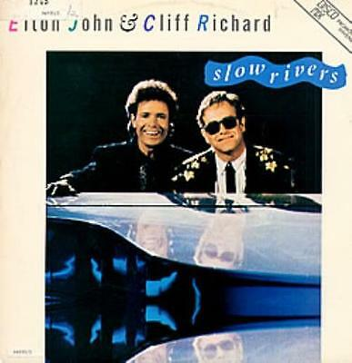 "Cliff Richard Slow Rivers 12"" vinyl single record (Maxi) Brazilian promo"