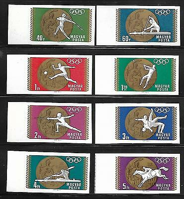 Hungary Stamp #1950-1957 Imp Set Of 8 (Mnh) From 1969