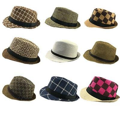 Job Lot of 25 PCS Men's Trilby Hats High Quality Good Mixed Colours and Textures