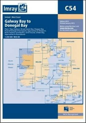 Imray Chart C54 2013: Galway Bay to Donegal Bay by Imray | Map Book | 9781846235