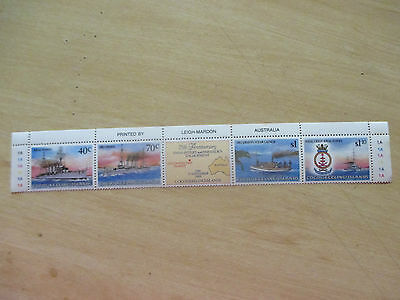 1989  --Cocos  Island--Strip  Of    4  Stamp  Issues   - Mint    -A1  Order