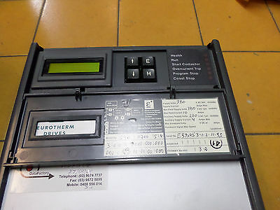 EUROTHERM DC DRIVE -- ANALOG - 35amps 15kW - 380 ac supply -- 590/0700/5/4/3/0