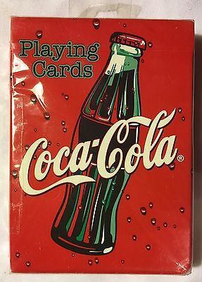 Sealed in package Coca Cola Bottle Bicycle Brand Playing Cards