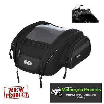 Oxford Mini 7 Litre magnetic Motorcycle Motorbike Tank Bag Black