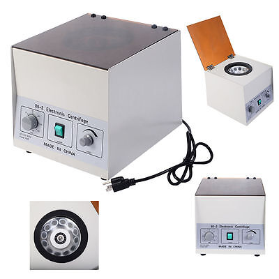 Desktop 80-2 Electric Centrifuge 4000Rpm Laboratory Medical Practice w/ Timer